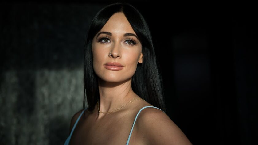 After winning the Grammy for album of the year, Kacey Musgraves arrives at the Ace.