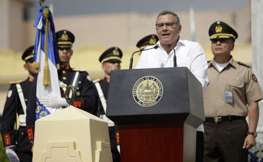 "President Mauricio Funes, shown giving a speech in San Salvador to celebrate the 192nd anniversary of El Salvador's independence, said this week about the closure of Tutela Legal: ""I am worried about the bad signal this sends."""
