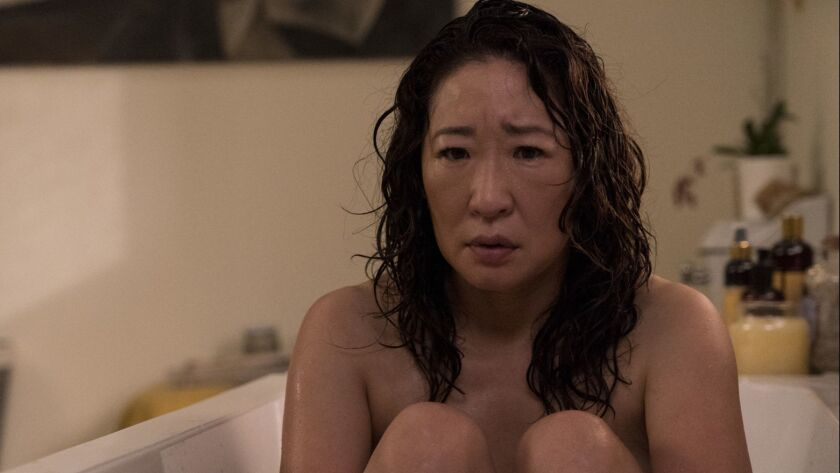 """Sandra Oh is Eve Polastri in BBC America's """"Killing Eve,"""" which will also air on AMC in its second season."""