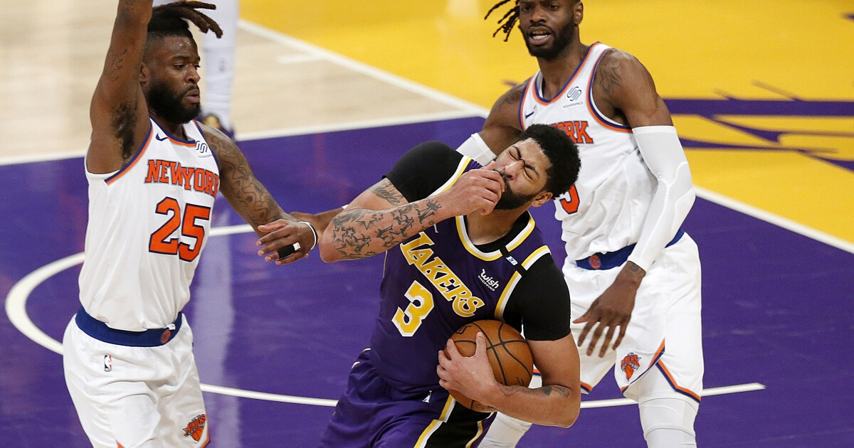 The Sports Report: LeBron-less Lakers defeat the Knicks