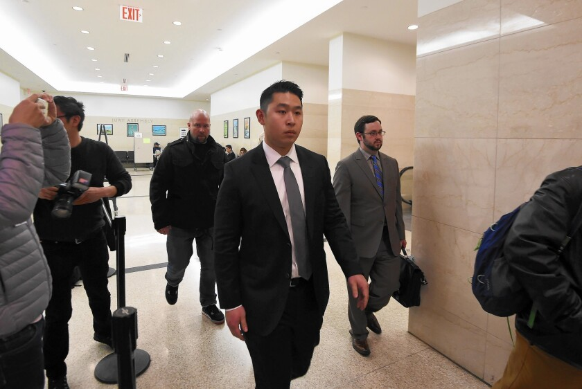 NYPD officer's trial opens with two versions of fatal shooting