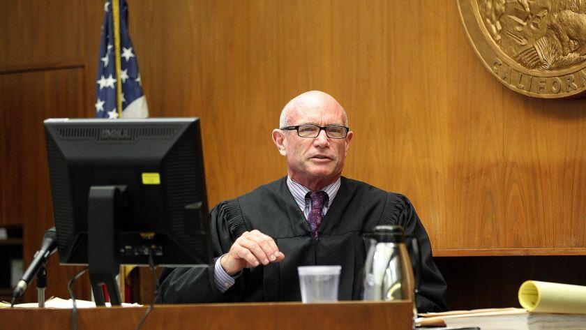San Diego Superior Court Judge Charles G. Rogers (File photo) .|John Gastaldo/San Diego Union-Tribune