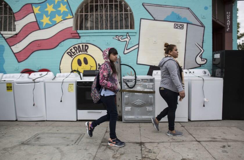 Central Avenue in South L.A. is changing as Council District 9 becomes more Latino and less African American.