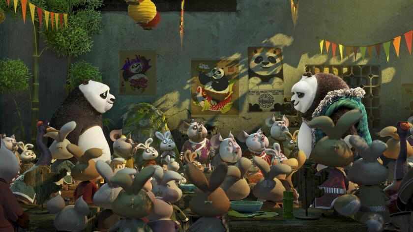"""La película animada de DreamWorks Animation costó unos 145 millones de dólares y logró una firme calificación """"A'' del público, 70% integrado por familias."""