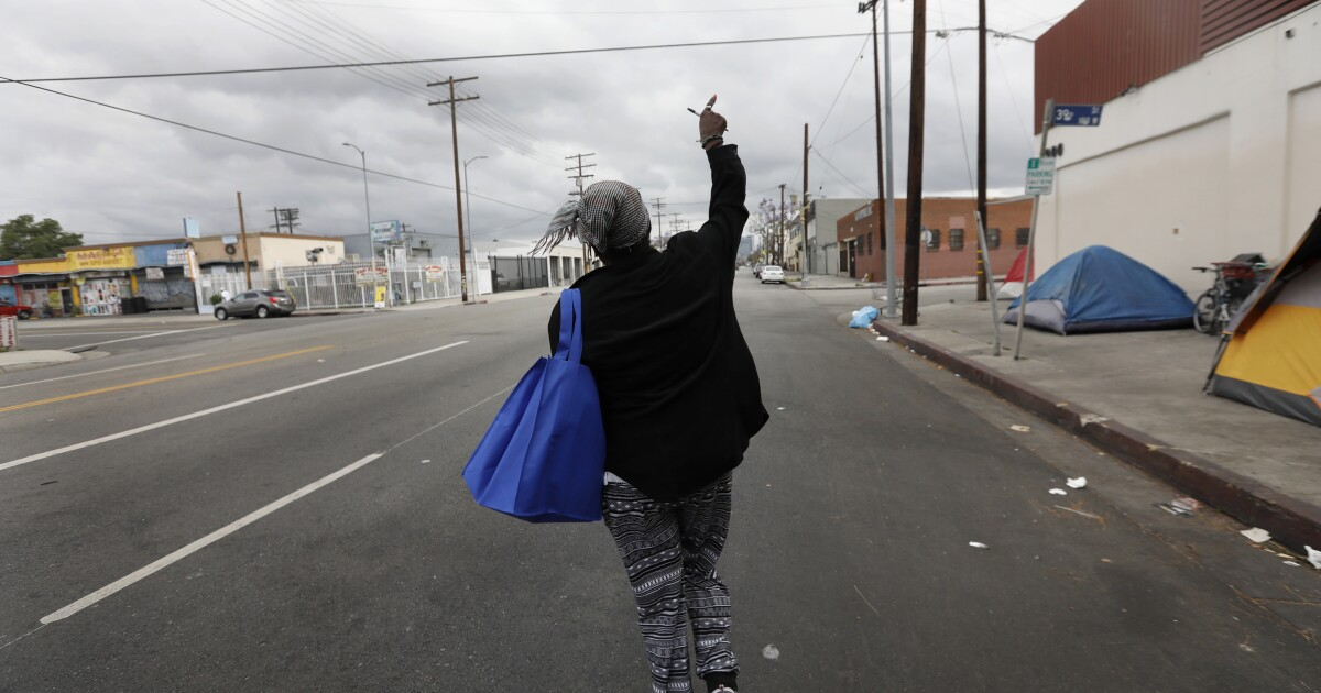 After 9 years on L.A.'s streets, Big Mama needed a home. But it wasn't that easy