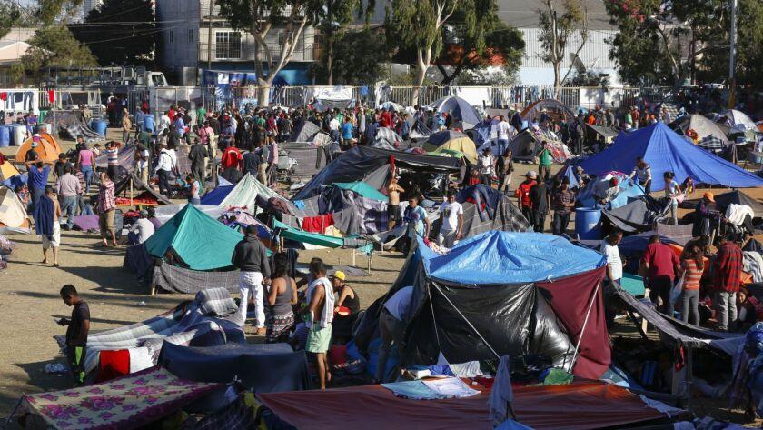 Tijuana shelters beyond capacity