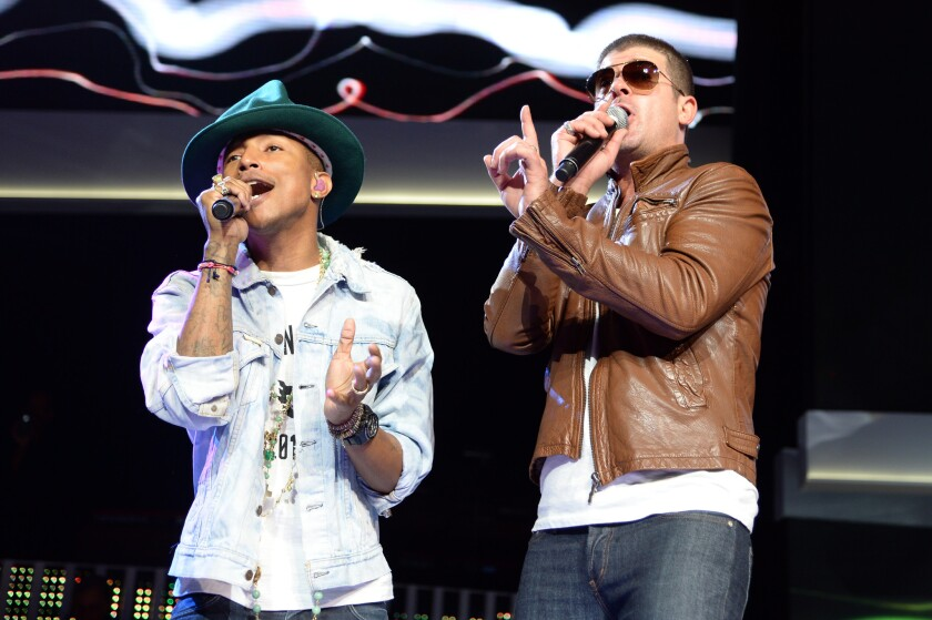 Pharrell Williams, Robin Thicke