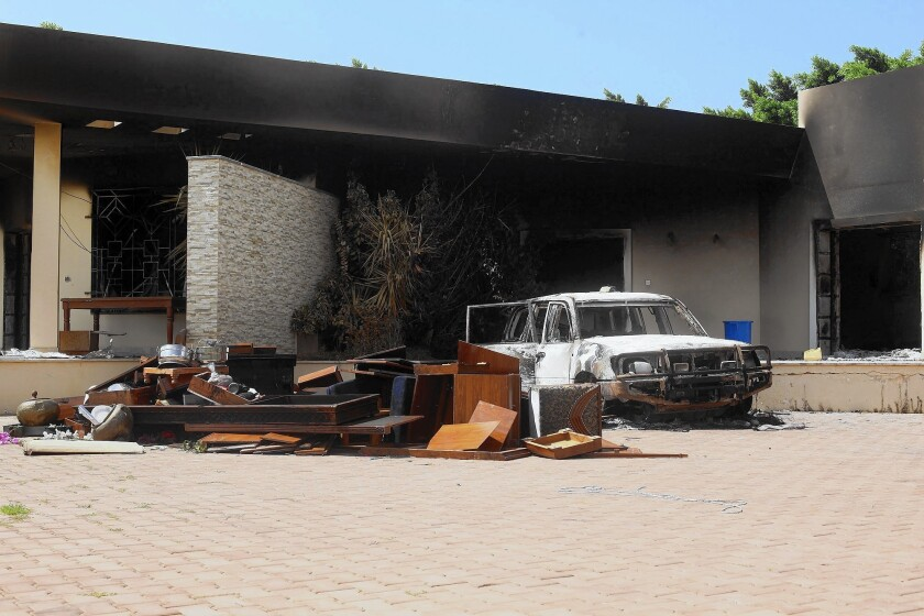 2012 attack on U.S. diplomatic compound in Benghazi, Libya