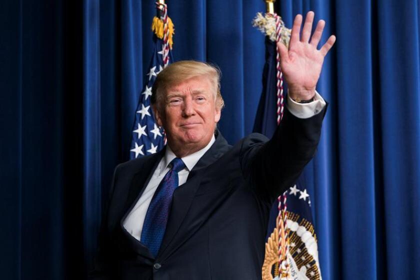 El presidente de Estados Unidos, Donald J. Trump. EFE/Archivo