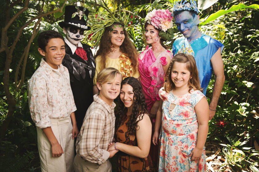The cast of J* Company Youth Theatre