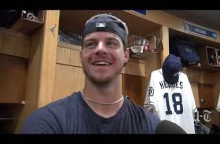 "Wil Myers on playing third base: ""I'm excited for the challenge"""
