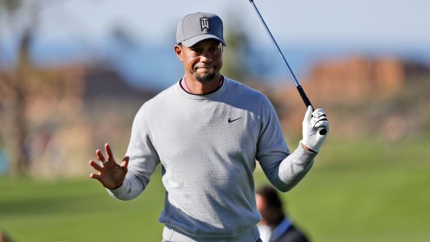 Tiger Woods will play at Torrey Pines later this month at a place where he's had plenty of success.