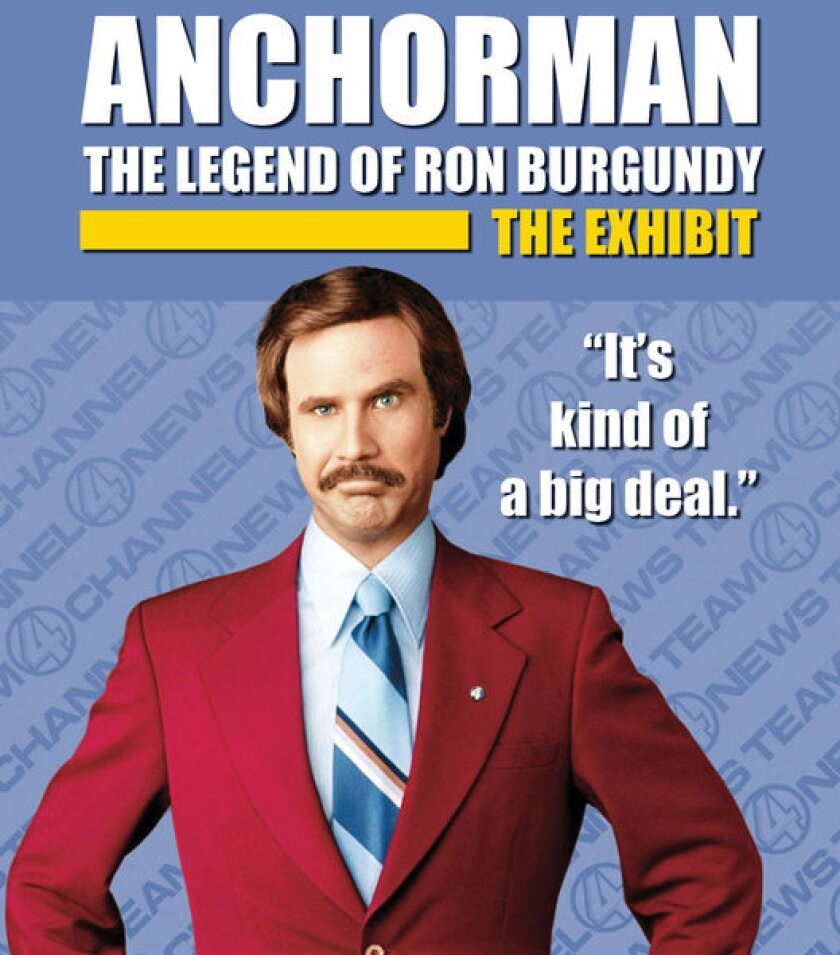 """Newseum will open """"Anchorman: The Exhibit"""" in November."""