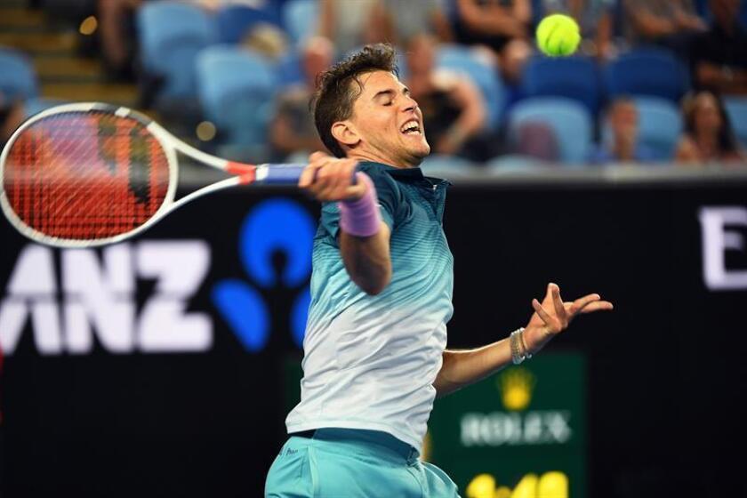 Dominic Thiem, tenista austríaco. EFE/Archivo