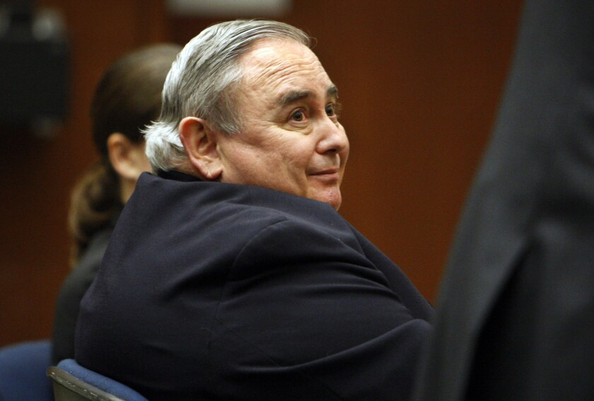 Former Bell City Administrator Robert Rizzo, pictured in this file photo, pleaded no contest to 69 public corruption charges.