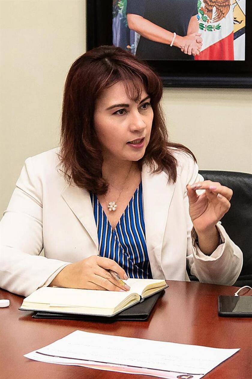 Claudia Indira Córdova Contreras, titular de la Fiscalía General de Justicia en Sonora, detalló que los agentes del Ministerio Público del Fuero Común realizaron más de 20 interrogatorios a testigos y familiares. EFE/SOLO USO EDITORIAL
