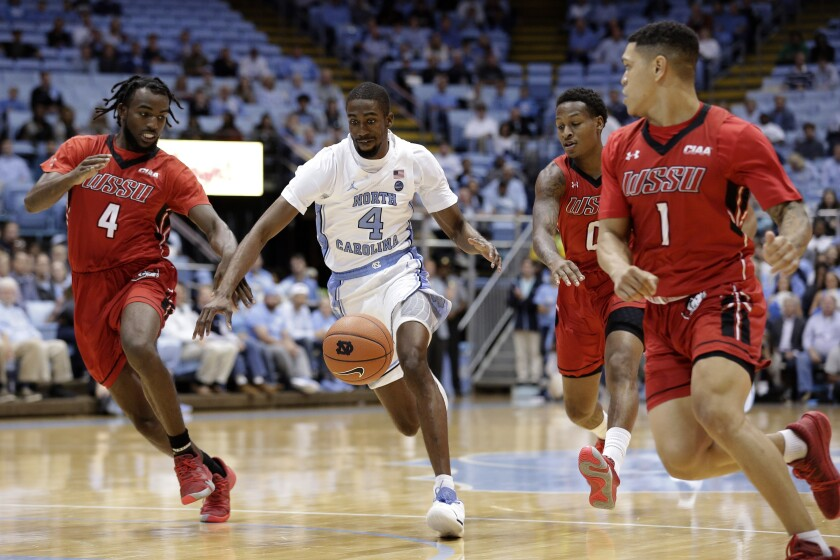 Winston Salem St North Carolina Basketball