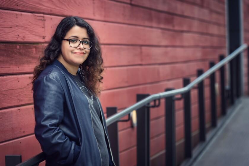 "Silvia Moreno-Garcia, the author of ""Mexican Gothic."""
