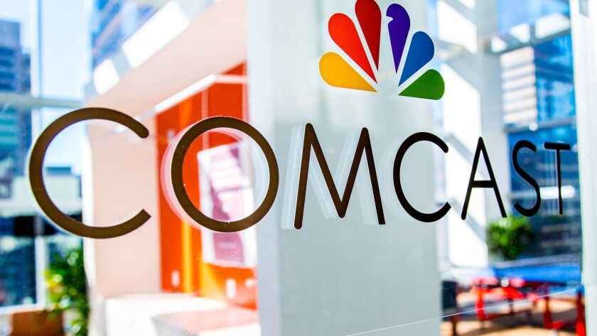 Philadelphia-based Comcast Corp, which owns NBCUniversal, is the nation's largest pay-TV and internet service provider.
