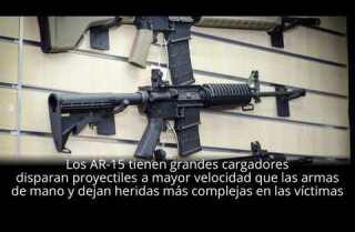 El arma detrás de los tiroteos más letales de EE.UU.