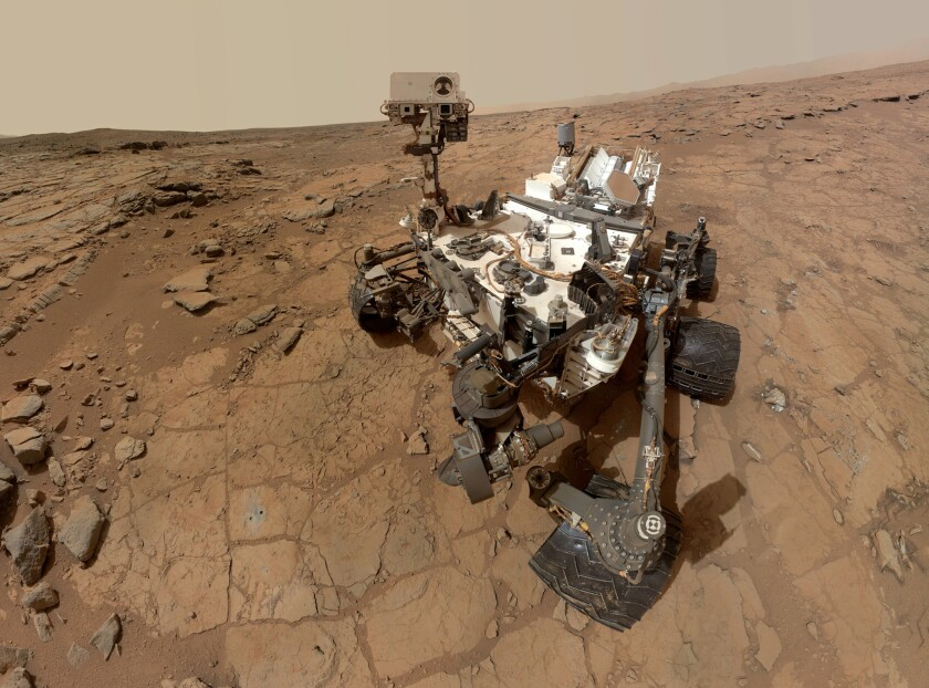 Take a virtual tour of Gale Crater, ancient Martian land of lakes