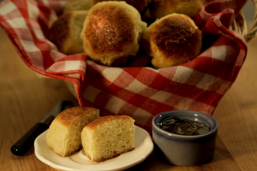 Flavorful Sally Lunn rolls, adapted from Rye in Louisville, Ky. Read the recipe »