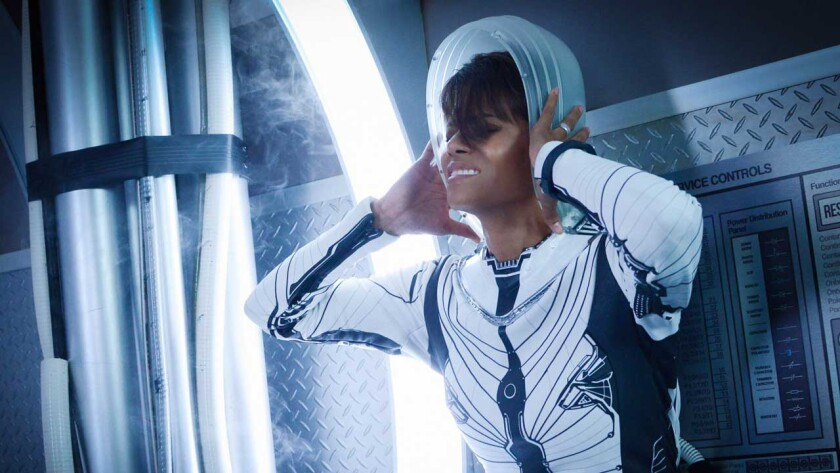 "Halle Berry in ""Extant"" on CBS."