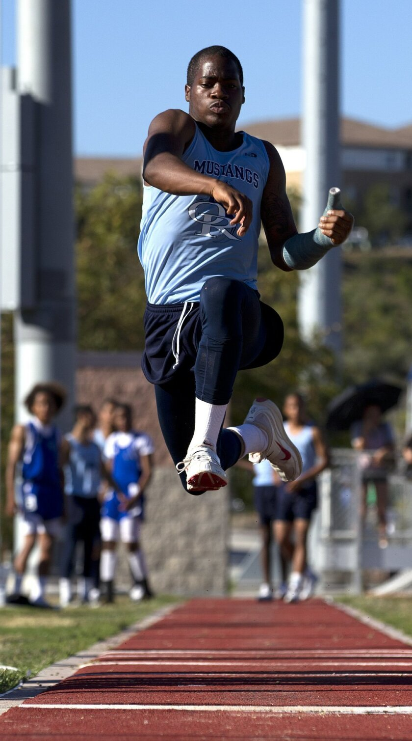 Otay Ranch senior Marques Roberts aims to win his division at the 2011 USA Junior Outdoor Track & Field Championships in June.