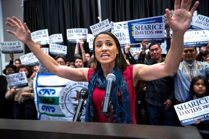 Nuevo récord de mujeres en el Congreso de EEUU tras las elecciones