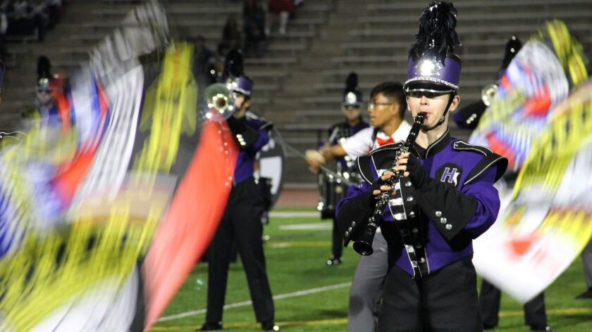 The Hoover High Tornado Marching Band on Nov. 18 took home a Bronze medal at the 2017 California Sta