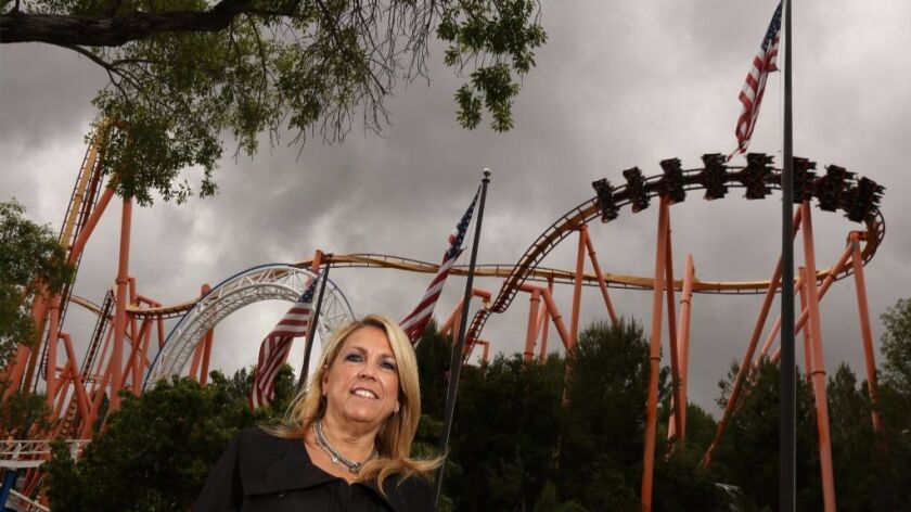 She started flipping burgers, now she's the boss at Six Flags Magic