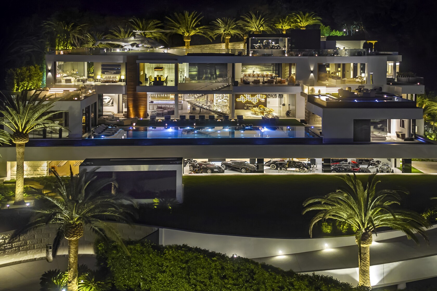 Most Expensive House In La >> The U S Priciest House For Sale Is A Bel Air Mansion That