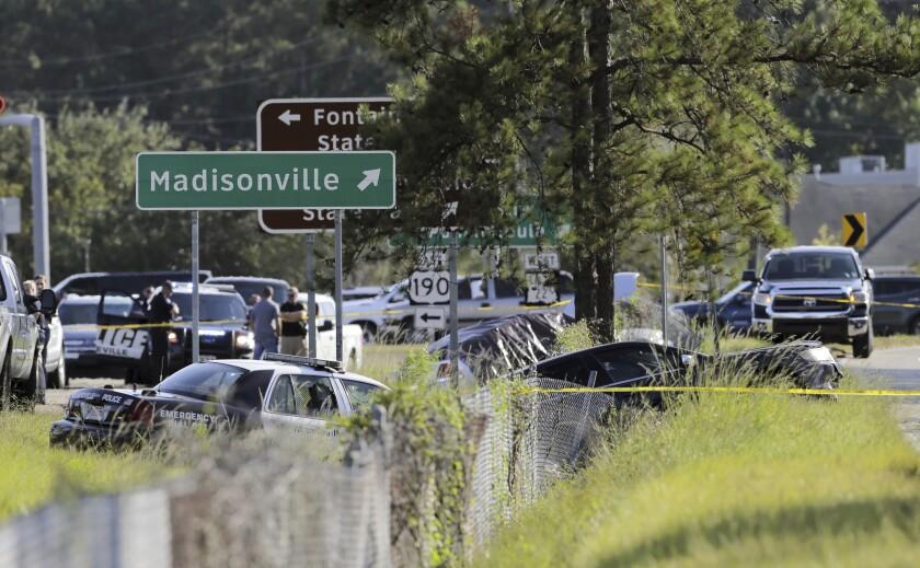 APTOPIX Officers Shot Louisiana