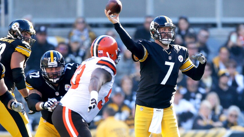 Steelers quarterback Ben Roethlisberger needs 3,186 yards to become the seventh player in NFL history with at least 50,000 yards passing.