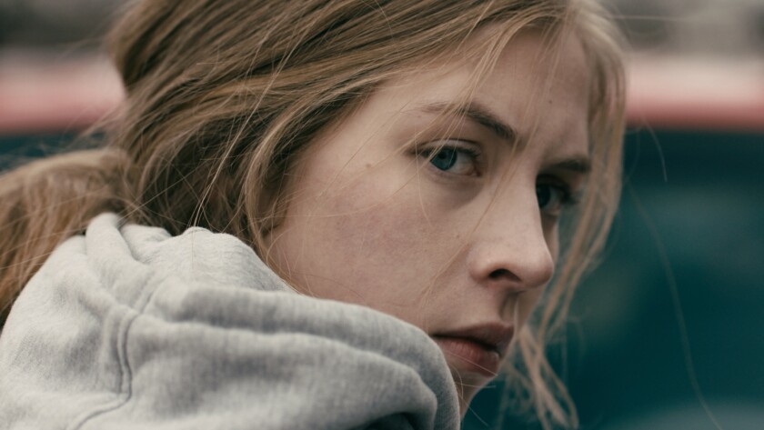 "Hermione Corfield in a scene from ""Rust Creek."" Credit: IFC Midnight"