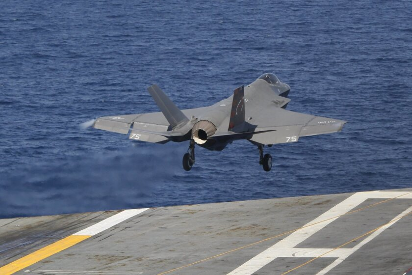 F-35c Joint Strike fighter continues evals