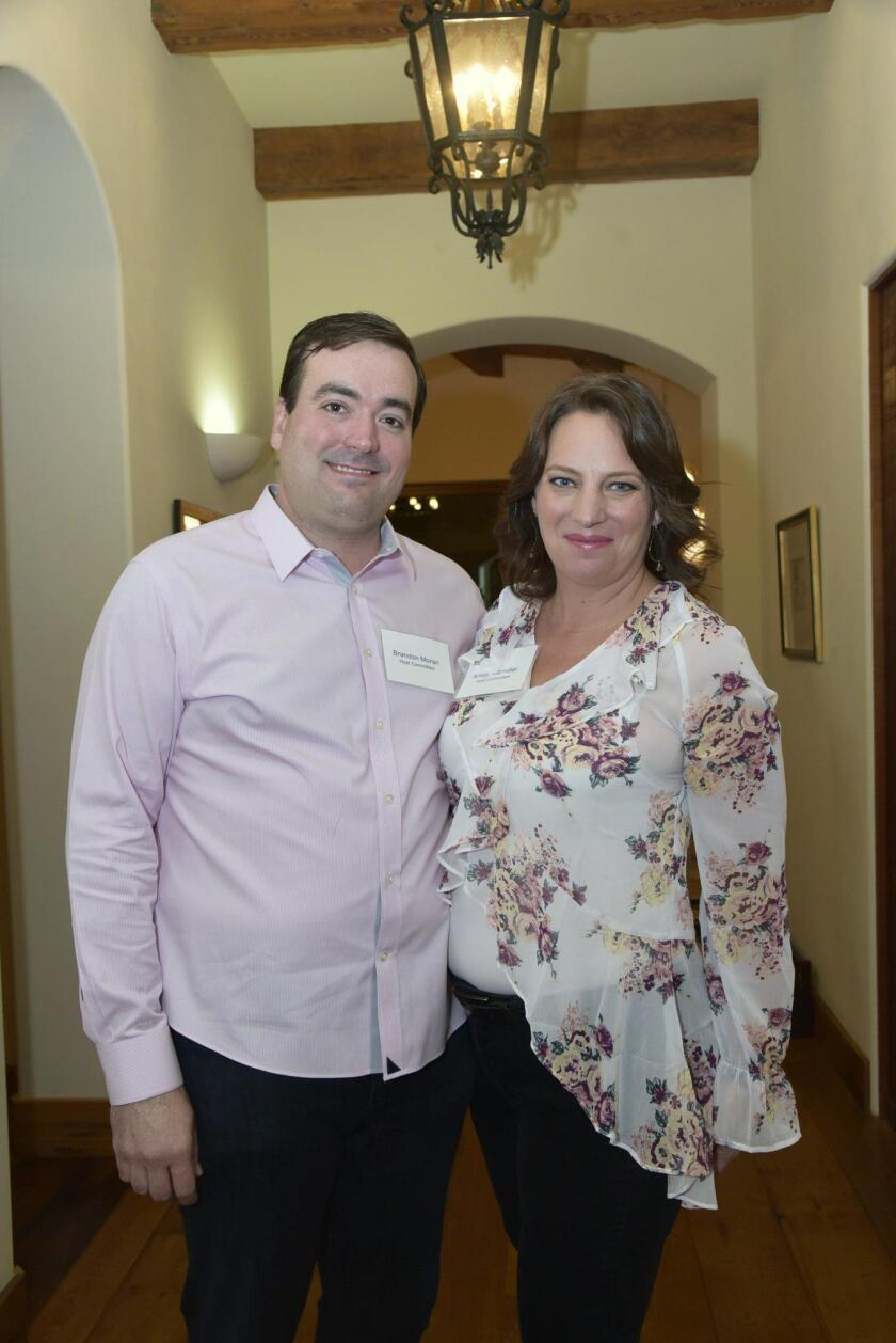 Event Hosts/host committee members Brandon Moran and Kristy Kitzmiller