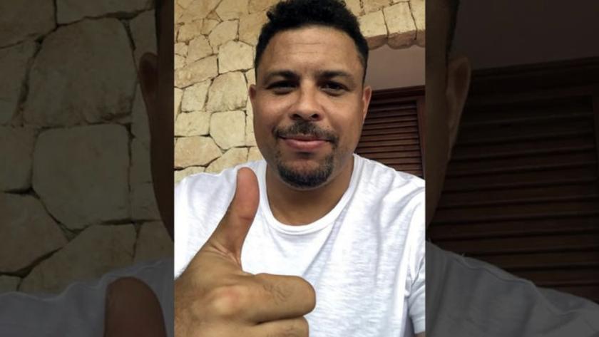 Ronaldo se mostró optimista en el mensaje que compartió en sus redes sociales.