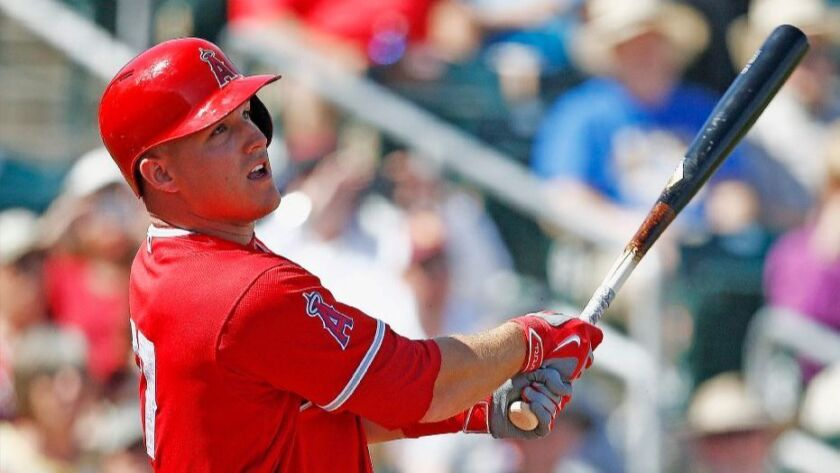 Angels center fielder Mike Trout has been impressed with the World Baseball Classic games.