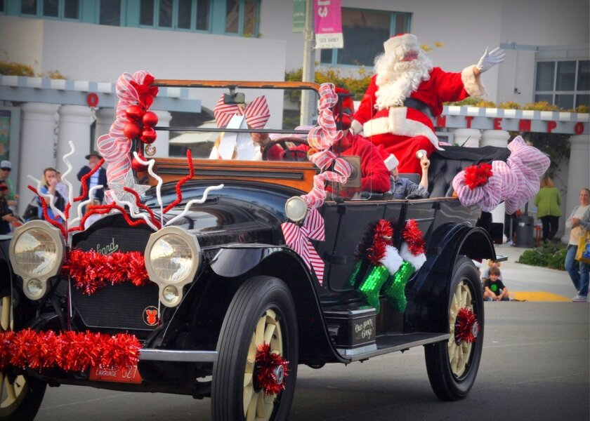 La Jolla Christmas Parade & Holiday Festival 2015