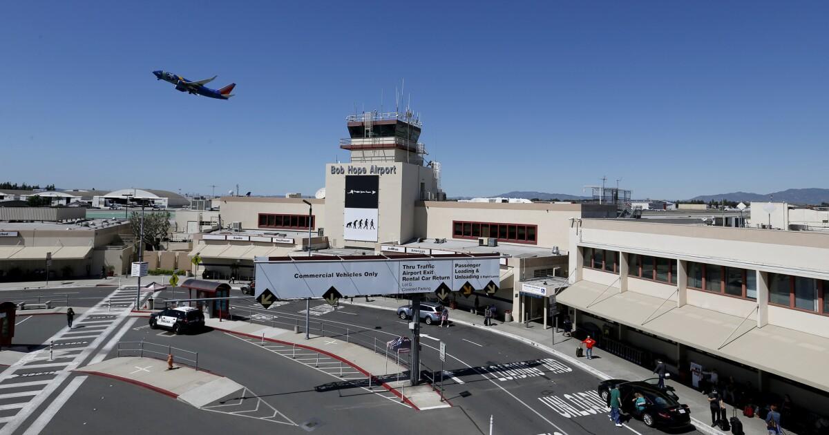 Burbank airport liegt im Pfad des kalifornischen Hochgeschwindigkeitszug, so ein tunnel ist in Arbeit