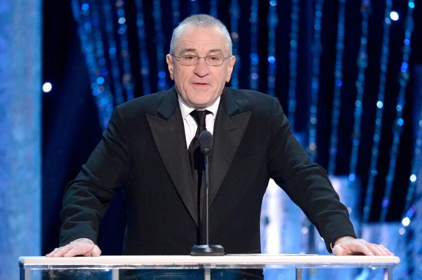 Robert De Niro at the 20th annual Screen Actors Guild Awards.