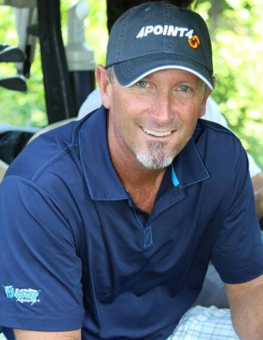 Bret Saberhagen, shown in a recent photo, threw a no-hitter for Cleveland High in the 1982 City championship baseball game at Dodger Stadium.