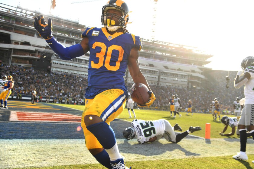Rams star running back Todd Gurley will not play Sunday against the 49ers