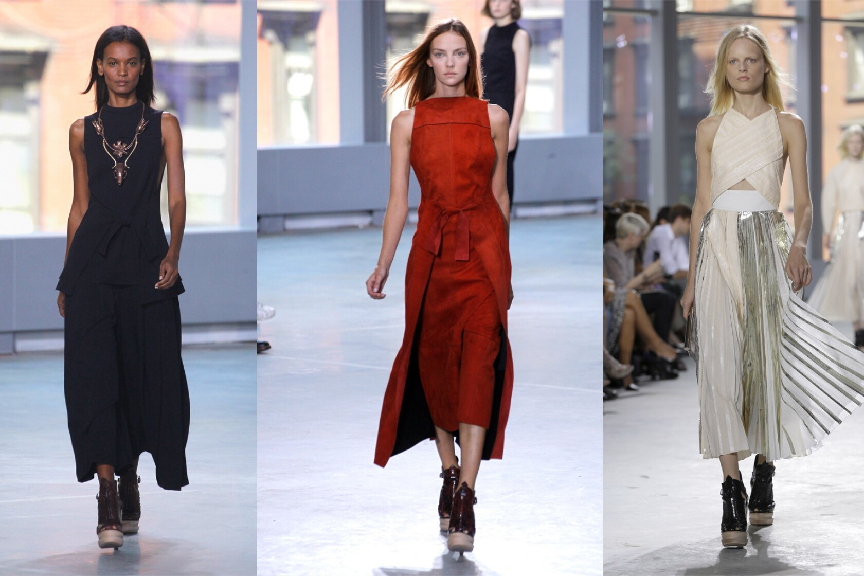 New York Fashion Week Spring 2014 Proenza Schouler Review Los Angeles Times