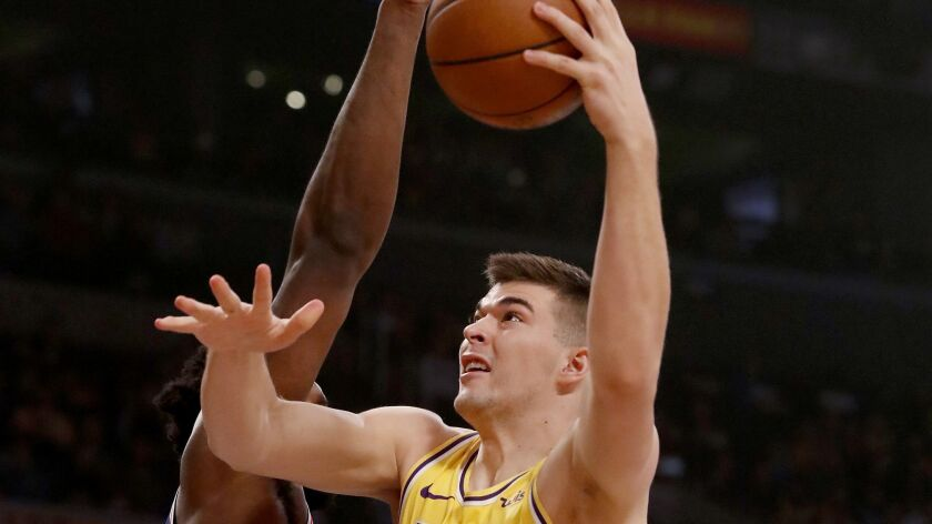 Center Ivica Zubac becomes the latest member of the Clippers' youth movement.