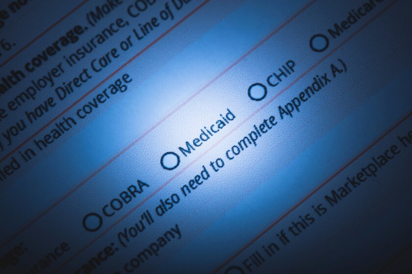 Readers wonder if receiving Medicaid will affect change in status requests.