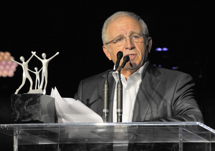Longtime music industry power-player Irving Azoff, above, is partnering with former AEG Chief Executive Tim Leiweke to launch Oak View Group, an L.A.-based entertainment advisory, development and investment company.