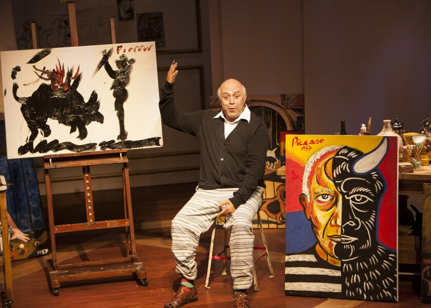 "Herbert Siguenza in ""A Weekend With Pablo Picasso."""