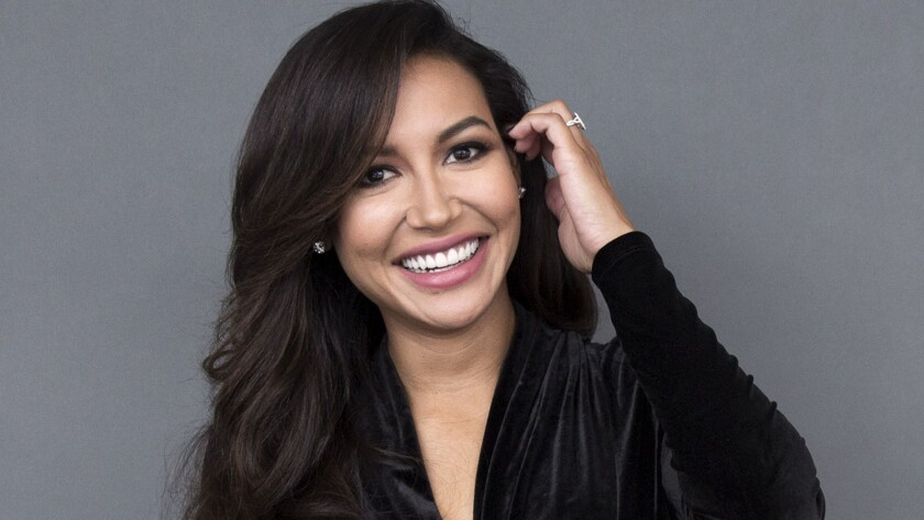 Actress Naya Rivera, who is believed to have drowned.